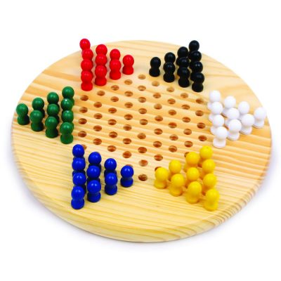 Trasitional Wooden Chinese Checkers
