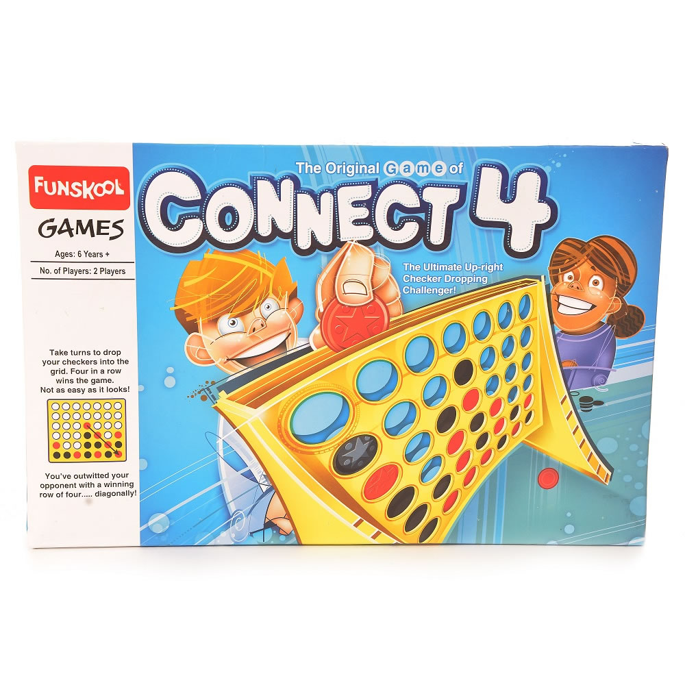 Connect 4 gamez galore for Motor age training connect
