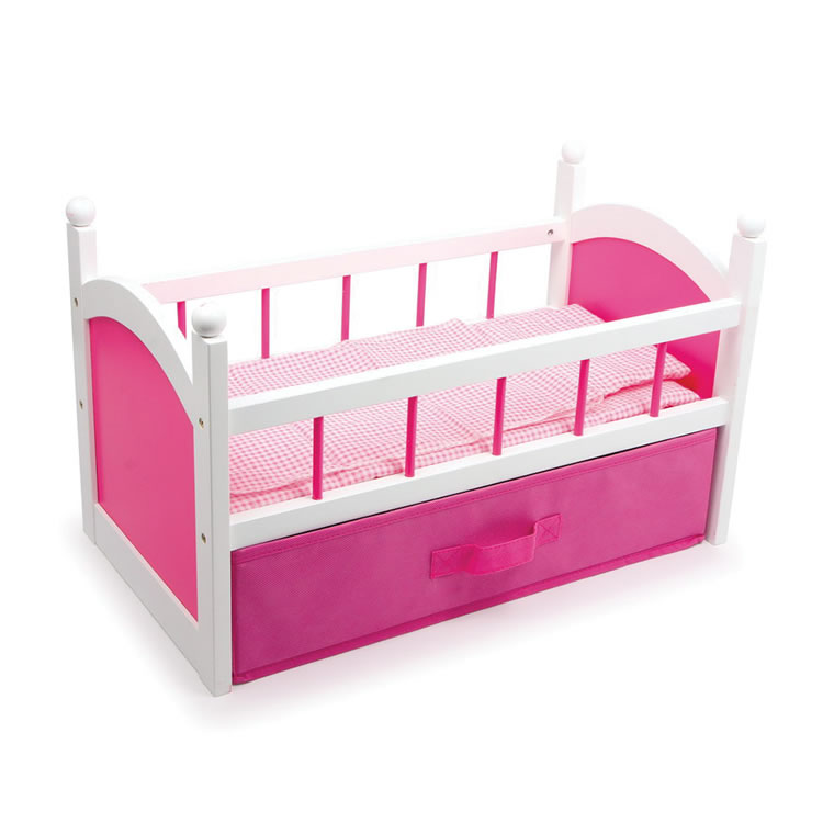 bed pink drawer