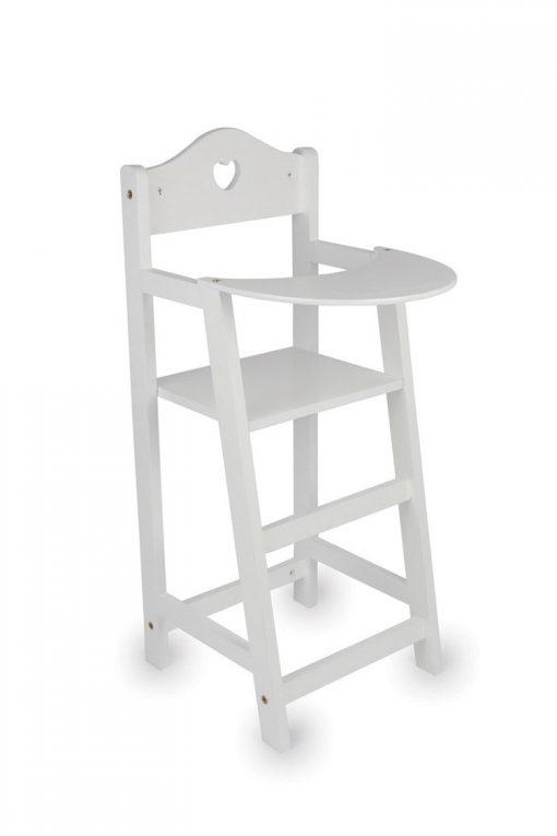 White Doll's High chair