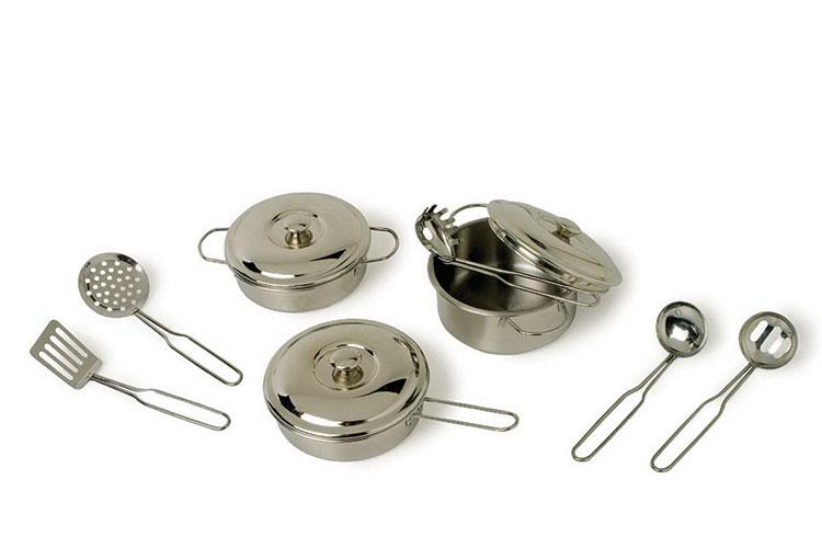 MMetal Cooking Pots & Utensils