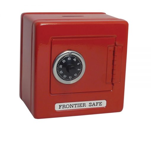 Metal Safe - Red