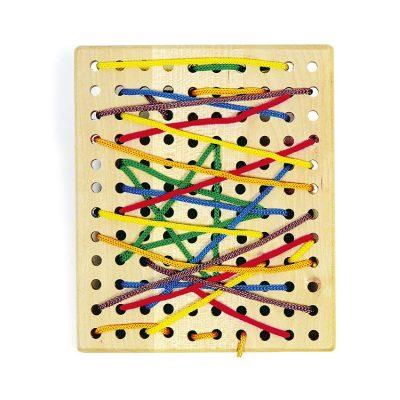 Wooden Threading Board