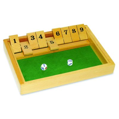 Wooden Shut the Box