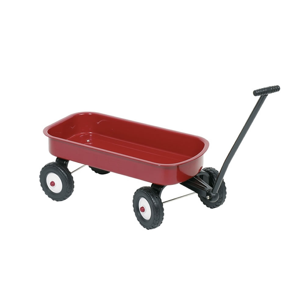metal-cart-red