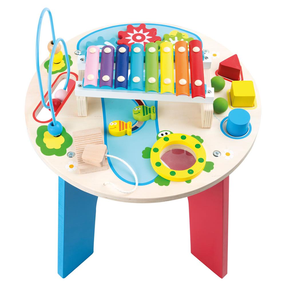 Musical Motor Table