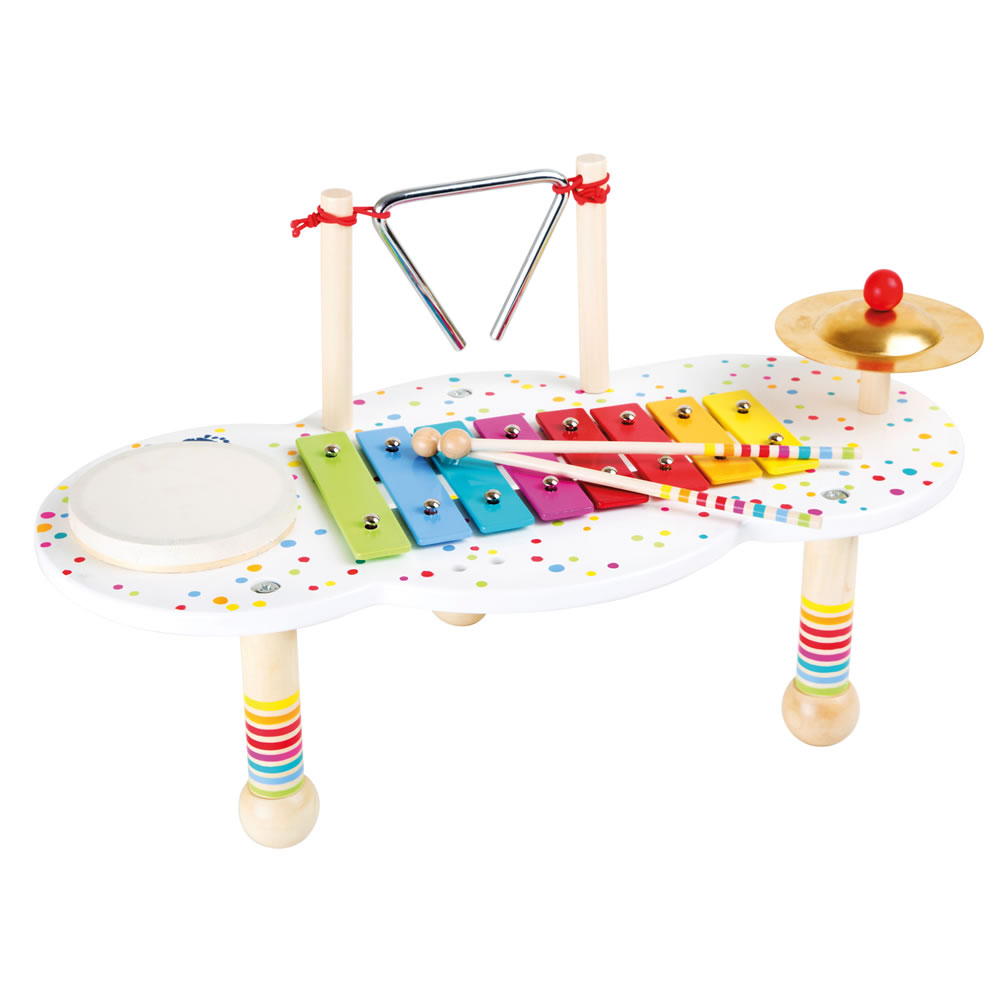 Music Table - White