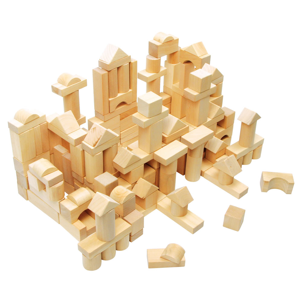 Small Natural Wooden Blocks
