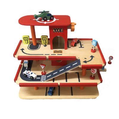 kids-wooden-garage