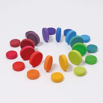 wooden-rainbow-discs